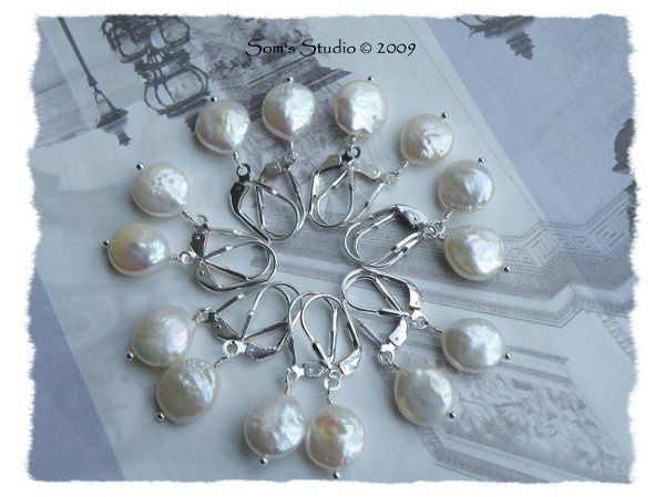 Tmx 1274551727479 CoinPearlEarrings1 Rochester wedding jewelry