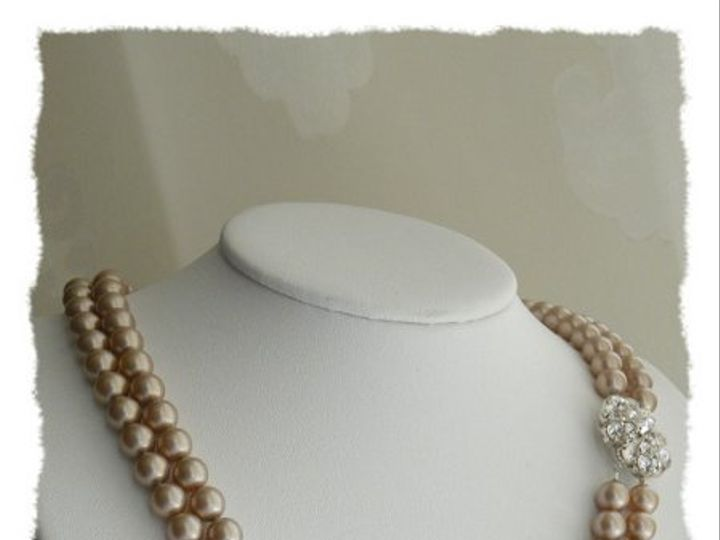 Tmx 1274552236729 PowderAlmondNecklace21stJuly20092 Rochester wedding jewelry