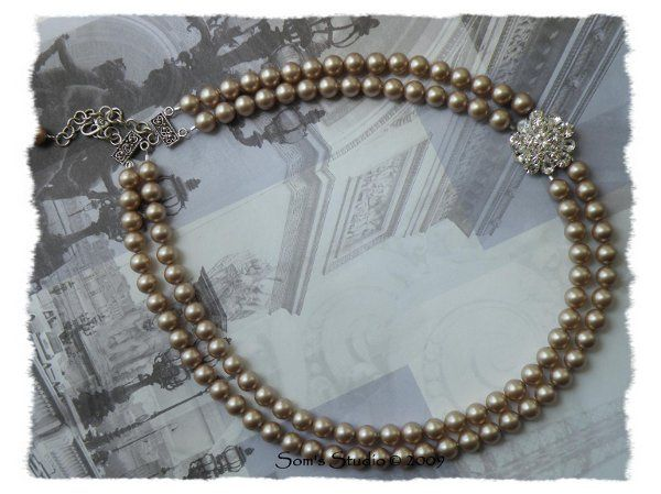 Tmx 1274552257495 PowderAlmondNecklace21stJuly20093 Rochester wedding jewelry