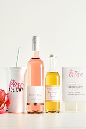 Frosé Gift Box- Beat the heat with your new favorite warm-weather drink! We might be biased, but the...