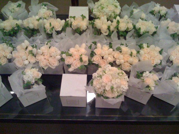 Bridal flowers for March wedding