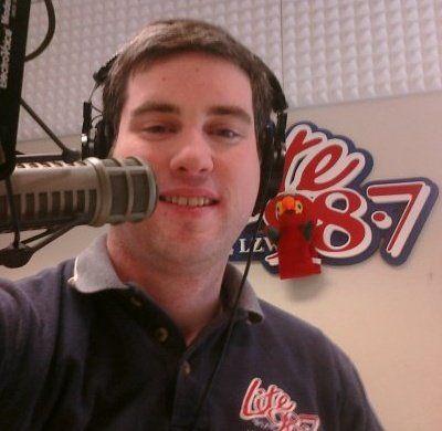 DJ Peter Naughton on Lite 98.7 WLZW in Utica