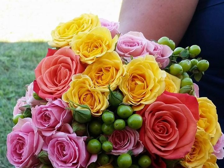 Tmx 1510246627652 Shells Bridesmaid Bqt Watsontown wedding florist