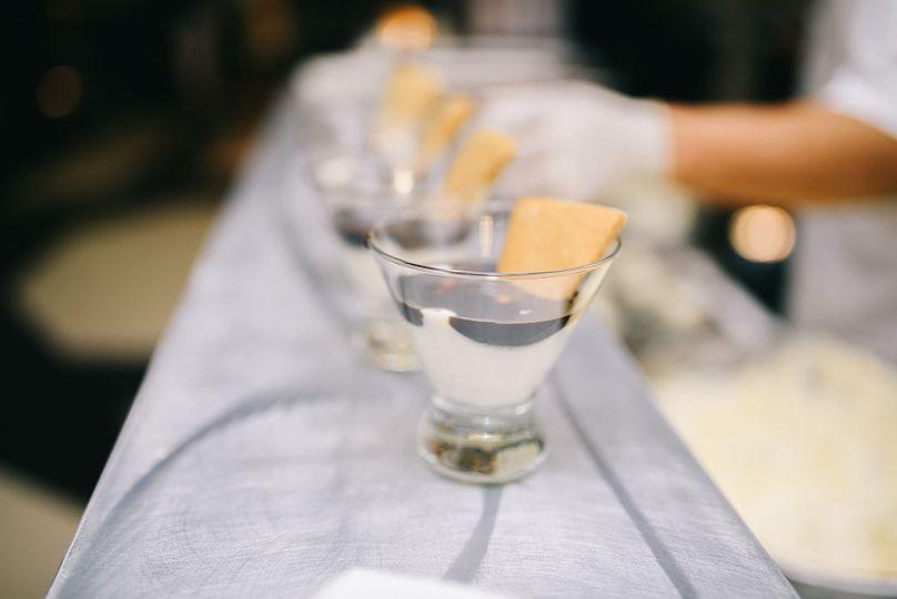Liquid Nitrogen S'mores :: Marshmallow Ice Cream / Dark Chocolate / Homemade Graham Crackers  Photo:...