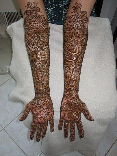 Henna Mehndi New Jersey : Bridal henna artist dipti desai specializing in