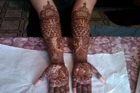 Bridal Henna Artist - Dipti Desai - Specializing in Bridal hair, make up, saree draping and Mehndi