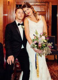 Tmx 1484761442605 Kristina And Joe Baucchus Close Up Milwaukee wedding florist