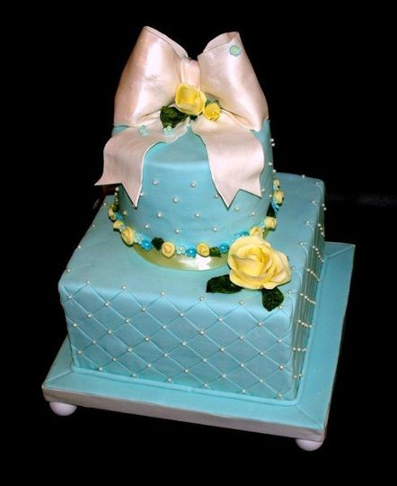 Tiffany Blue Quilted