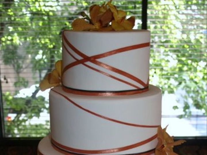 Tmx 1315417048005 RibbonCake Wilsonville wedding cake