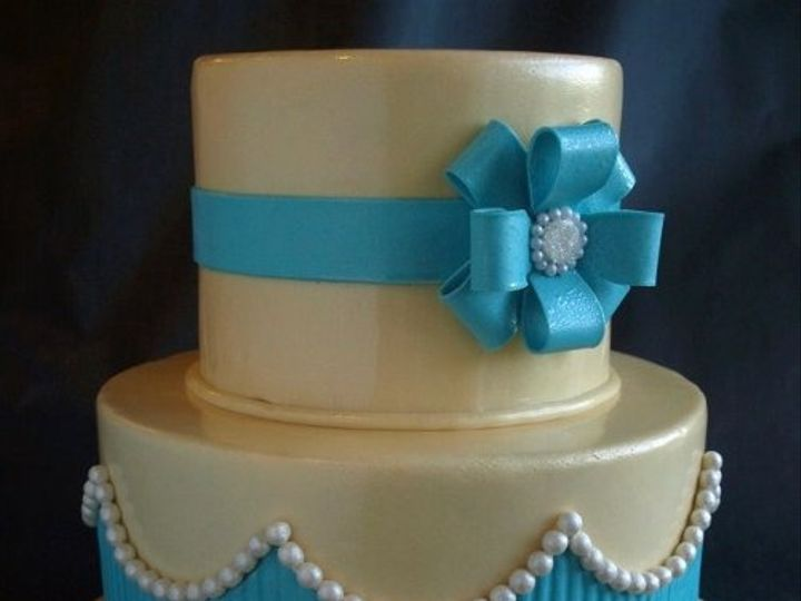 Tmx 1315417309523 BluePearl Wilsonville wedding cake