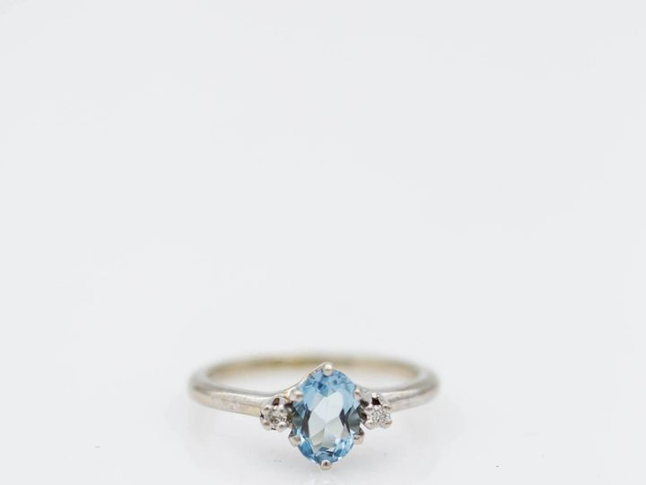 Tmx Aquamarine Vintage Ring 51 145102 1556822130 San Luis Obispo, CA wedding jewelry