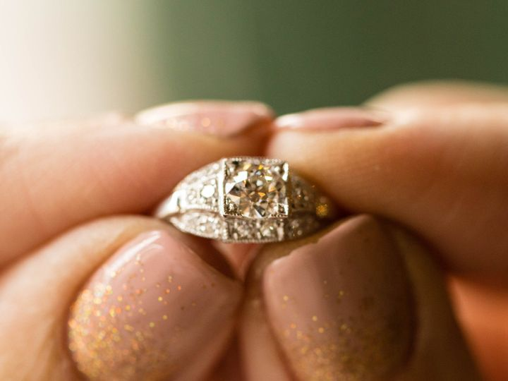 Tmx Art Deco 1920s Platinum Engagement Ring 51 145102 1556822085 San Luis Obispo, CA wedding jewelry