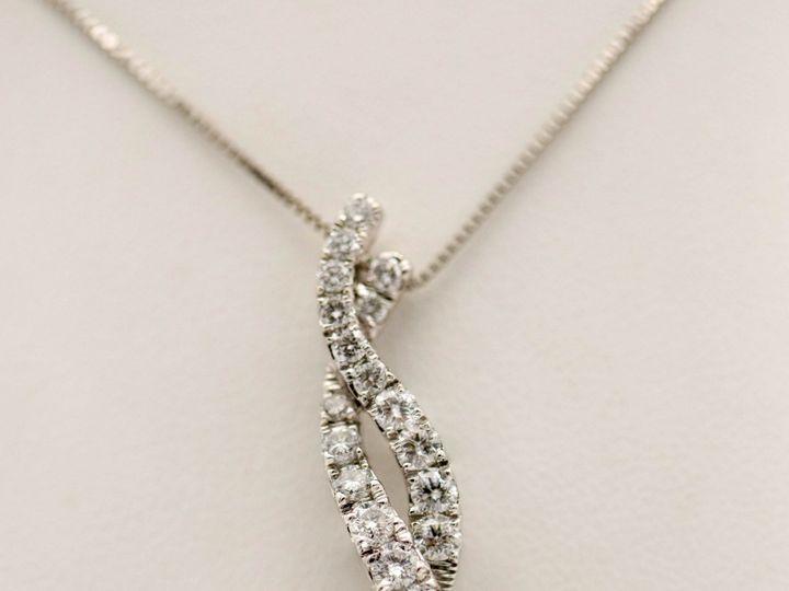Tmx Diamond Swirl Necklace Final Serengeti West Fine Jewelers 51 145102 1556820486 San Luis Obispo, CA wedding jewelry