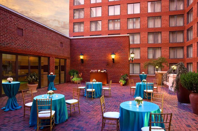 Terrace Cocktail Reception