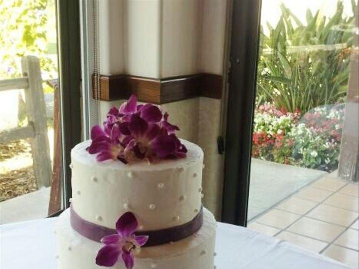 Tmx 1403641167021 Purpleqrchidcake San Diego wedding cake