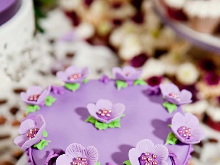 Tmx 1403641171283 Purplewedding San Diego wedding cake