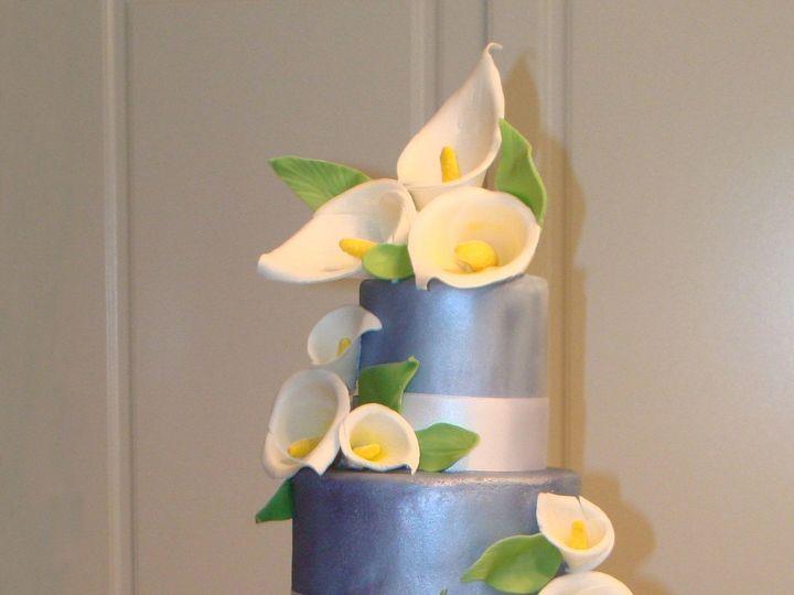 Tmx 1403641337785 Lilycake San Diego wedding cake