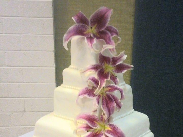 Tmx 1403641375695 Squarelilycake1 San Diego wedding cake
