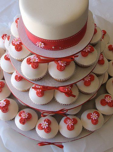 Tmx 1308277428723 Cupcakes11 Parkville, MD wedding cake