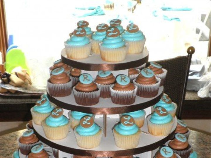 Tmx 1308277433348 Cupcakes14 Parkville, MD wedding cake