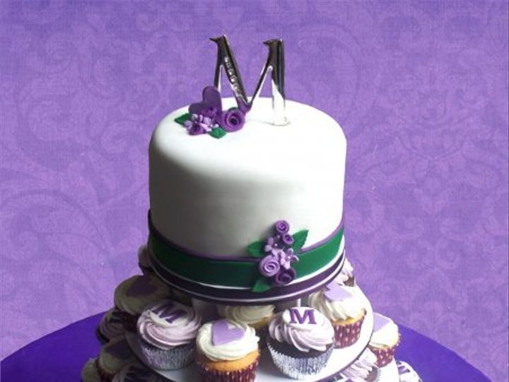 Tmx 1308277501223 Cupcakes Parkville, MD wedding cake