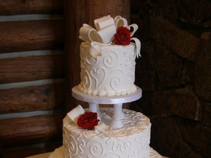 Tmx 1308277660286 Pillar Parkville, MD wedding cake