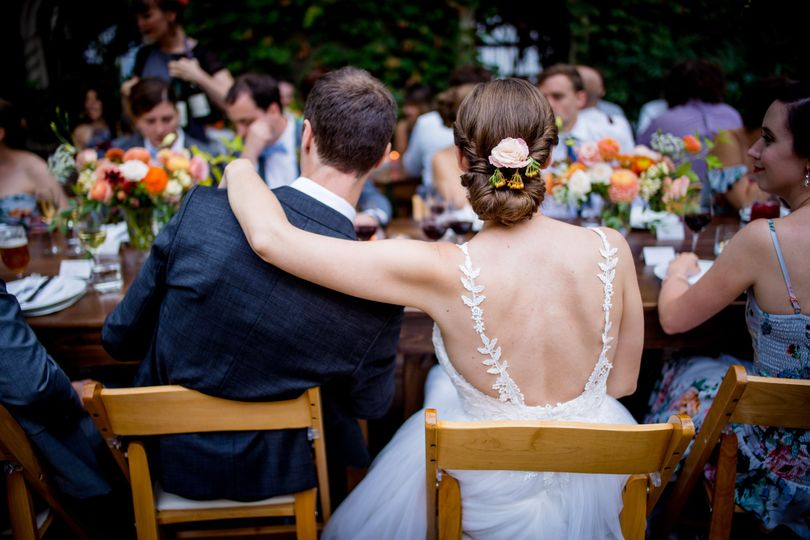Newlyweds' table | By: Salt & Pine Photography