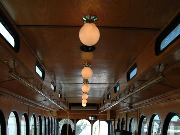 Tmx 1349284100748 TrolleyInterior Naples wedding transportation