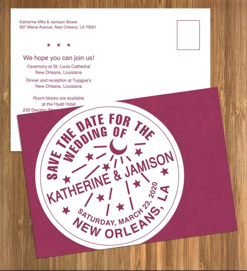 new orleans water meter save date pink staged 51 499102 158162297965754
