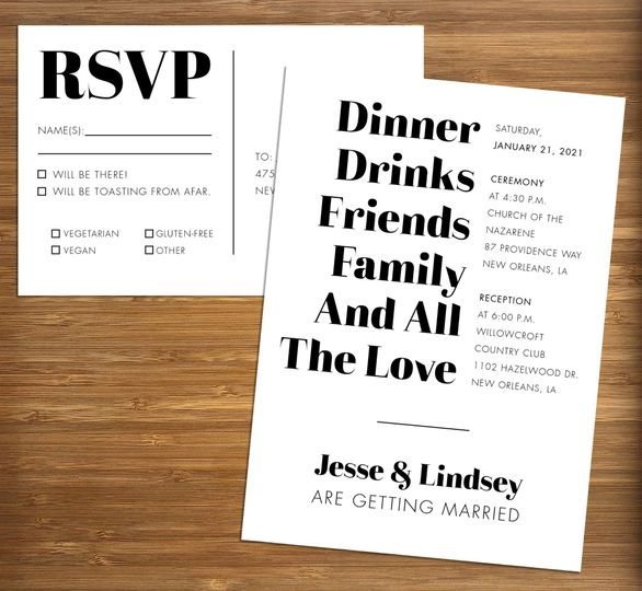 vertical type wedding invite rsvp staged 51 499102 158162302032263