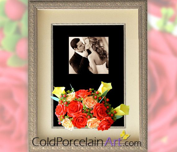 Tmx 1404246345621 Cold Porcelain Art   Weddings   Red Roses   Bouque Ankeny wedding florist