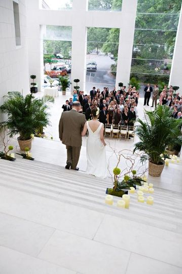 The Jepson Center for the Arts overlooks Telfair Square and features a soaring atrium, grand...
