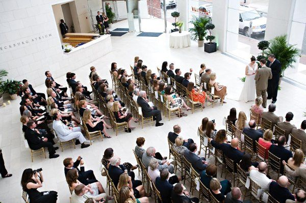 Ceremonies in the Jepson atrium are typically followed by cocktails on our terrace.