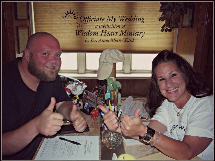 Tmx A Thumbs Up Indeed 51 722202 1571964738 Windsor, Pennsylvania wedding officiant