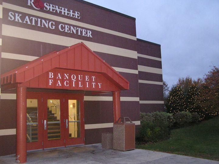 Exterior view of Roseville Skating Center