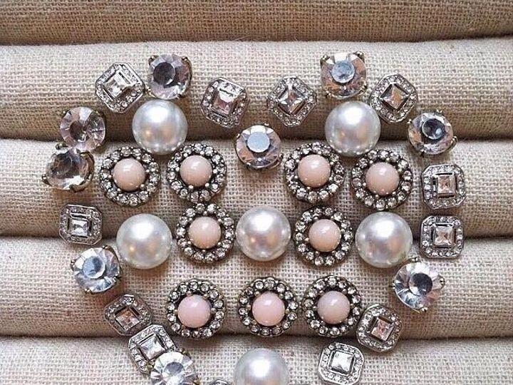 Tmx 1436291203879 Heart Studs Raleigh wedding jewelry
