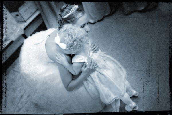 The little ones can start dreaming of their own wedding.