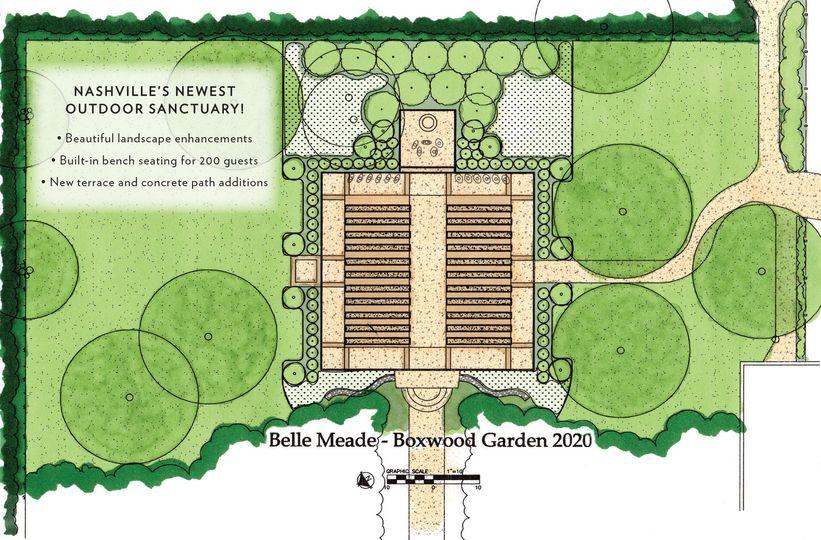 Boxwood Garden 2020