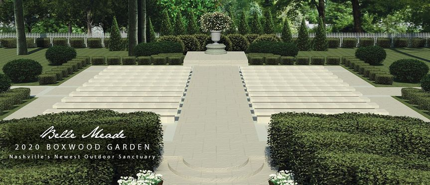 Artist rendering of new garden