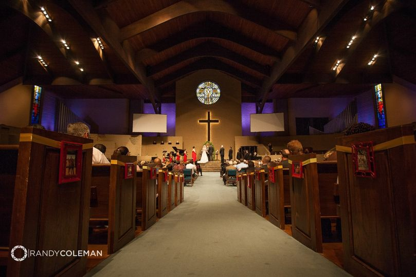 Sanctuary for ceremonies