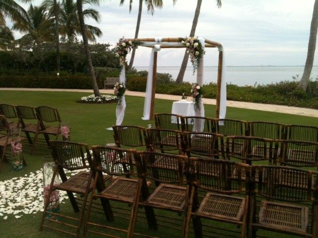 Tmx 1398965168774 Bamboo Arch With Bamboo Chair Sanibel wedding eventproduction