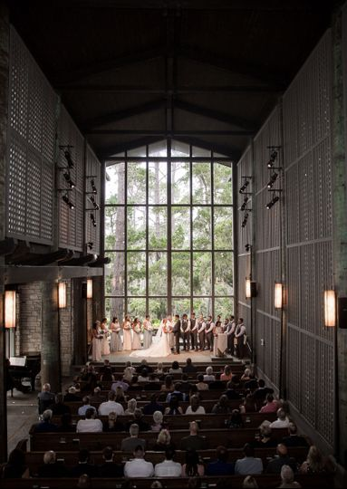Church in the forest Wedding