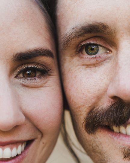 Artistic Bride & Groom photos