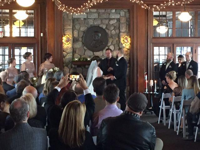 Waldenwoods during ceremony