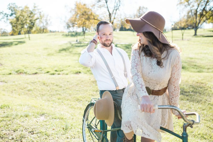 raleigh wedding photographer styled engagement pho