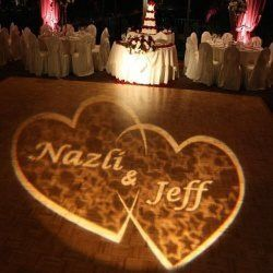 Wedding monogram light