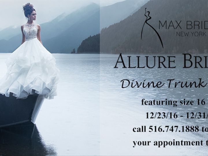Tmx 1481143730869 Divine Trunkshowbanner Syosset wedding dress
