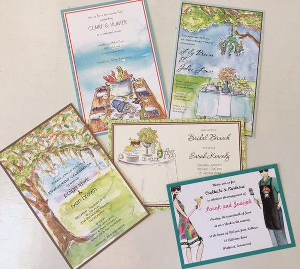paperworks plus wedding parties
