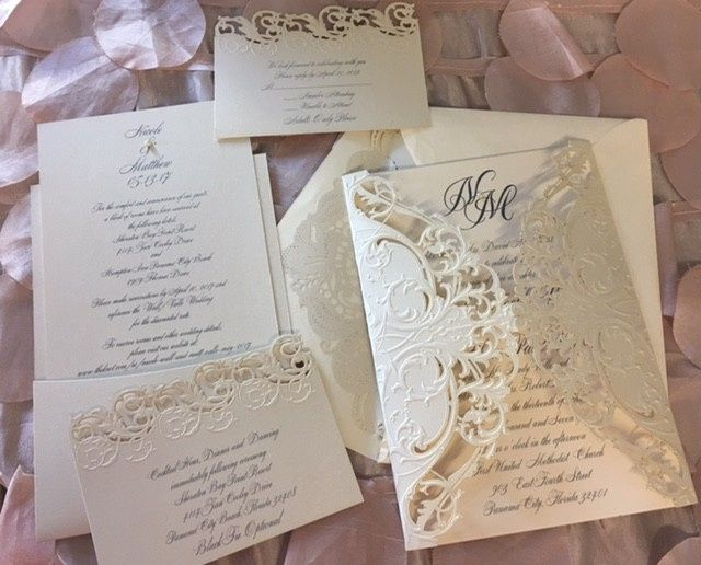 Paperworks plus invitations panama city fl weddingwire stopboris Gallery