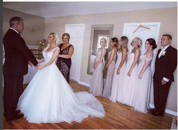 Bridesmaids styled